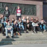 Tagesausflug nach Berlin – hier vor der Siegessäule